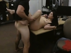 Sexy latin chick got facial and everything went well