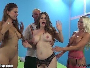 We have a very special huge tits special on Thursday Night Throwdown!