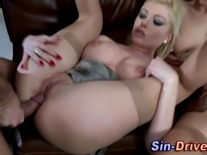 Wam bigtit whores eat cum after hardcore anal fuck and ass to mouth