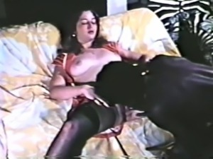 King Paul fucks chick in red garters