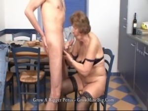 mature fuck in the Kitchen free