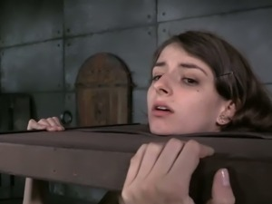 Innocent looking teen Willow Hayes first time bdsm