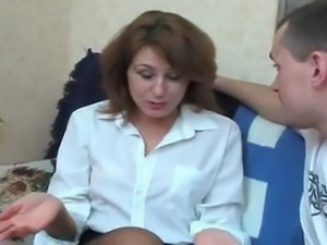 This Russian woman has beautiful legs
