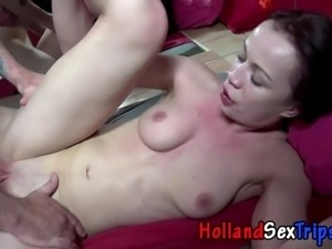 Real hooker sucks and fucks tourists cock for money