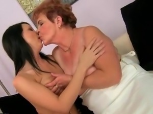 Grannies and Young Girls Nasty Sex Compilation