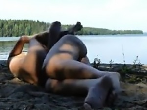 Homemade Sex Tape At The Beach