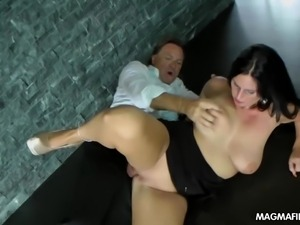 magma film horny german milf takes a big dick hard and deep