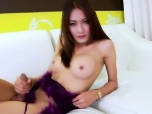 Asian ladyboy fetish solo