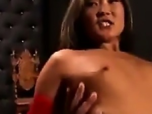 Japanese Slave And A Big Black Cock