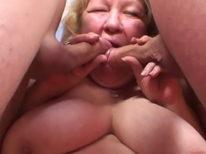 Fat granny fucking her husband and the counselor