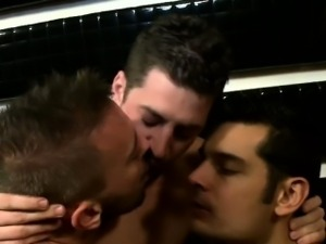 Andrew Stark in a gay nightclub orgy
