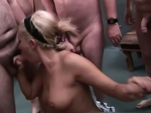 Nasty sluts go crazy sucking cocks part5