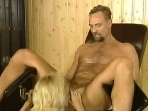 Blonde mom with huge tits fucking hard like crazy