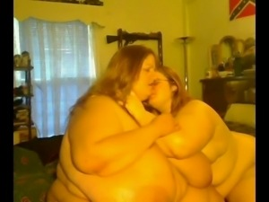 Horny Big Fat BBW Lesbians playing with each other-P4