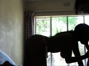 African Amateur Amber Fucked in Hotel