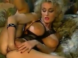 Blonde MILF Fisting Herself