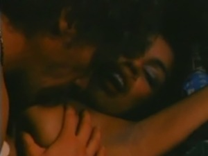 Classic couple passionate fucking in the 70's
