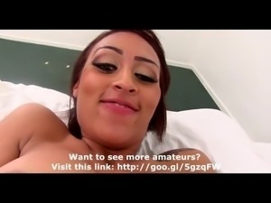 Black Slut Banged for Porn Casting