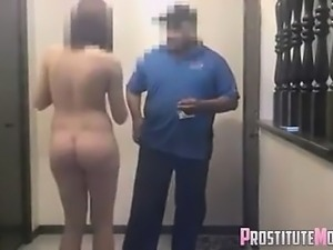 It\'s finally happened, pizza guy gets blowjob!