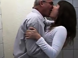 Old Man Fucks Teen Slut