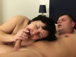 He fucks old mother in law