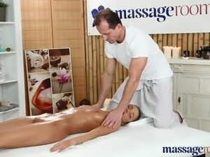 Massage Rooms Petite tanned Russian