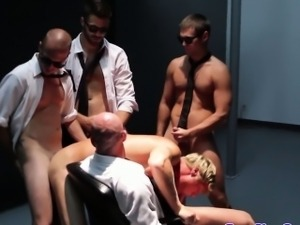 Groupsex hunks gangbanging lucky guy