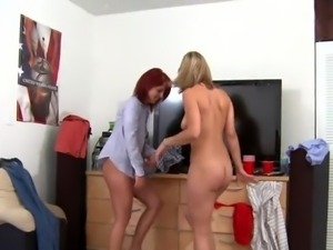 University dolls take their thongs off