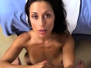 Sexy model orgasm squirt