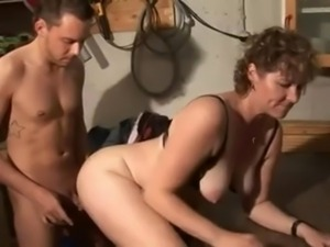 Mature mom-slut & guy