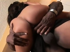 Jenaveve Jolie takes a Black Monster Dick