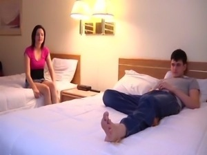 Brother and Sister get their own hotel room free