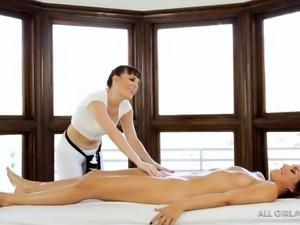 slutty rylinn enjoys a pleasant massage