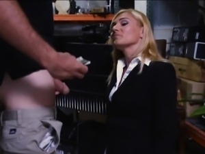 Hot milf banged by pervert pawnkeeper at the pawnshop