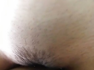 Fucking a cute Asian chick POV