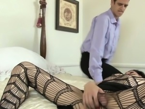 Fucked tranny swallows