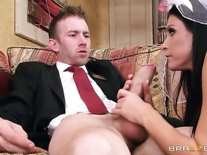 India Summer blows the jizz out of Danny Ds schlong