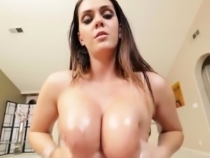 Hooters slut titty fucks