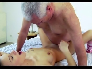 Teen love to fuck Old Men