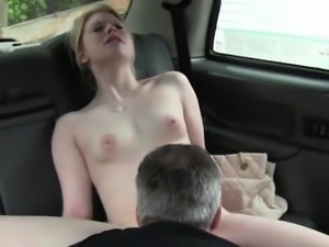 Driver pounds horny Paiges pussy