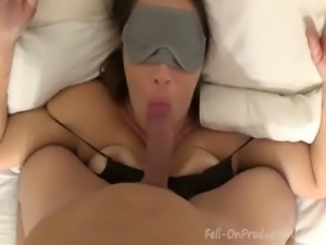 "Madisin Lee in ""Mommy's Sleepy Time"" I fucked my masked momma free"
