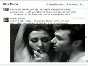 Indian not brother rohan fucks sister riya on facebook chat free