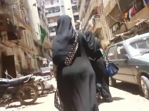 bbw ass hijab arab