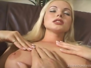 This hot milf clearly masters the art of seduction! Slutty Silvia Saint loves...