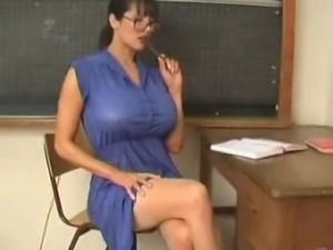 Rukhsana teacher play with her big boobs