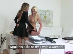 I check every inch of the body, before taking girl in lesbian movies. She...