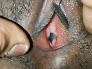 Indian fucked cum inside pussy