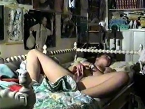 Hidden cam in my Swinger Family house. Moms and girlfriends masturbating 2
