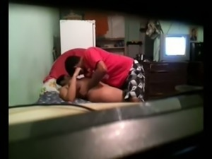 Horn-mad bootyful dark haired Indian wifey gets hammered from behind