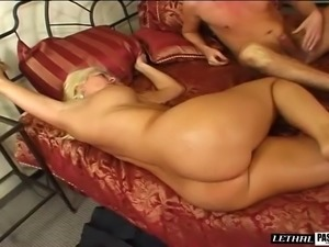 Seductive cougar in thong screwed hardcore from nice angles